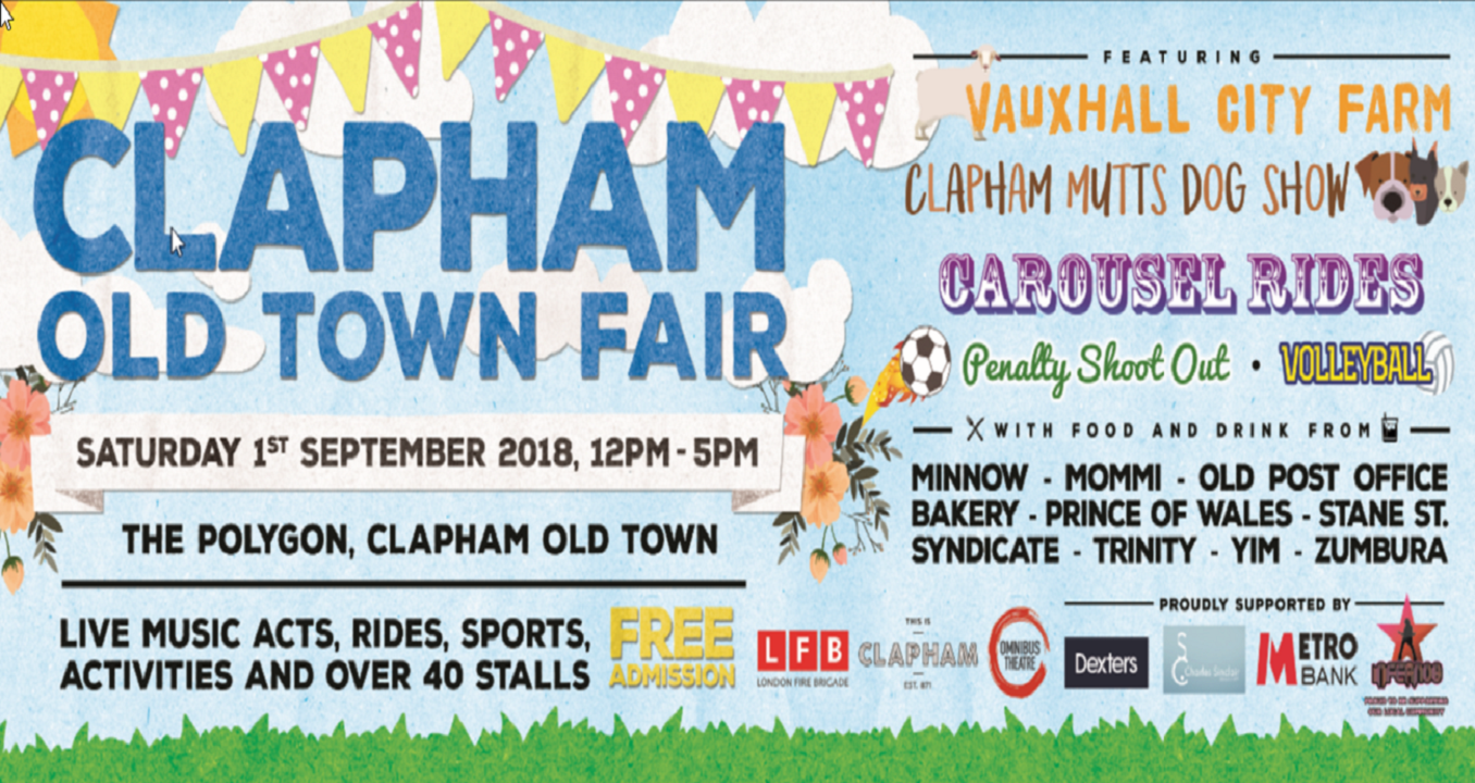 clapham old town fair 2018