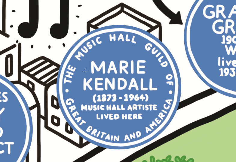 marie Kendall music hall