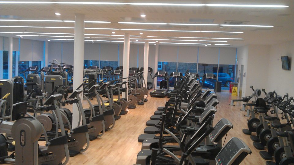 Clapham leisure centre this is
