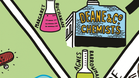 deane and co Chemists Ghostsign Clapaham