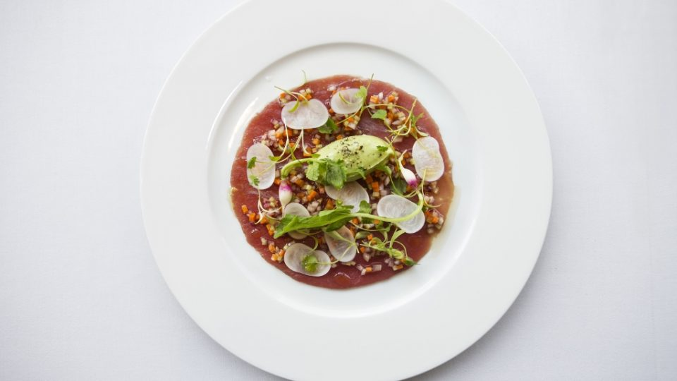 Big Eye Tuna Carpaccio, Avocado, Sesame and Lime (2) (1024x683)