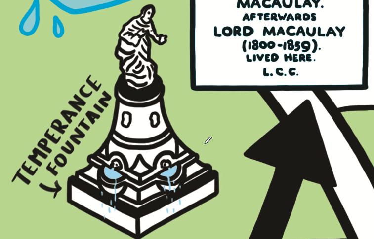temperance fountain Clapham Common