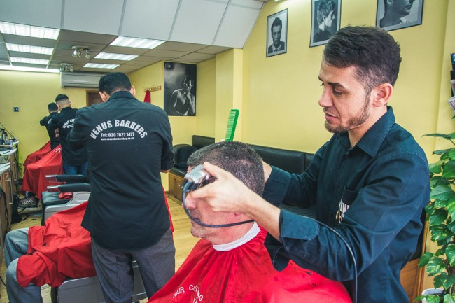 venus barbers clapham