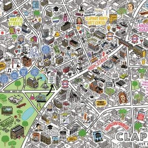 Jenni Sparks Clapham Map