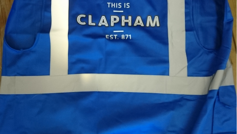 Safer Clapham security vest