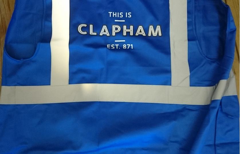 Safer Clapham security vest