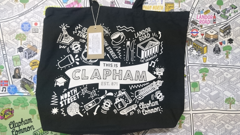 Clapham Shopping bag
