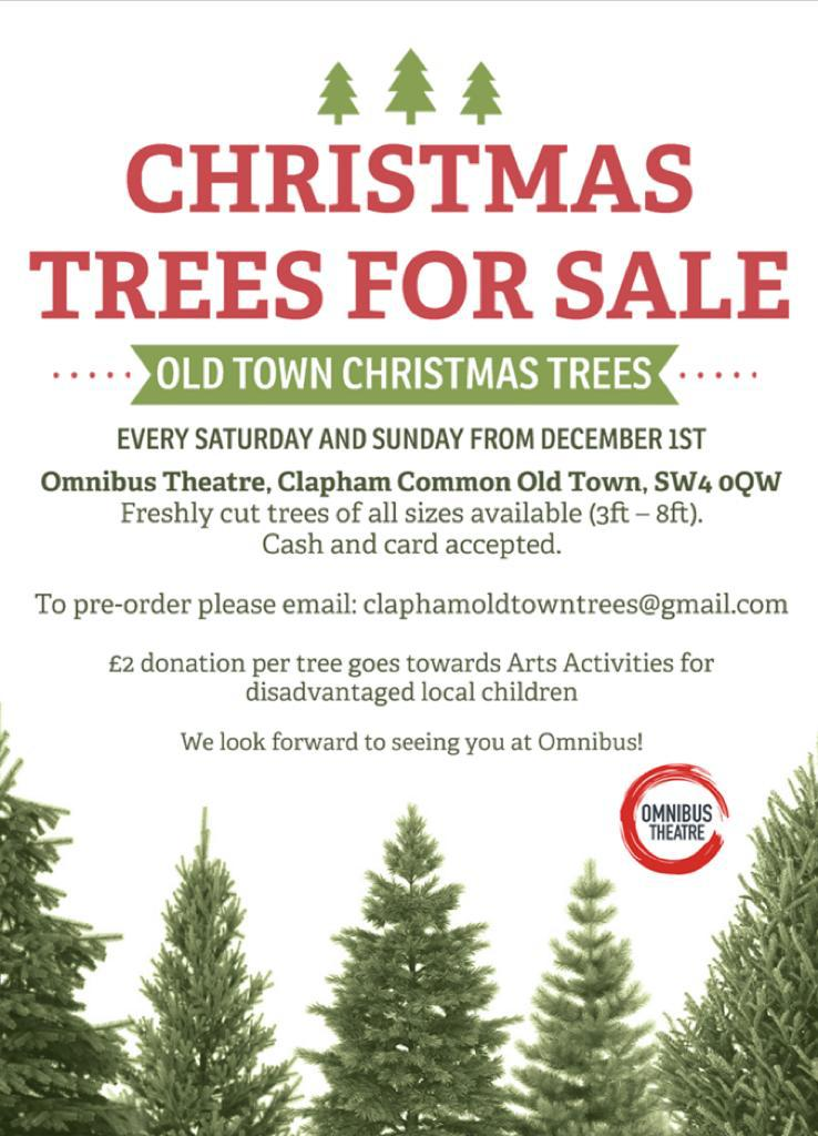 - Christmas Tree Sale At Omnibus - This Is Clapham