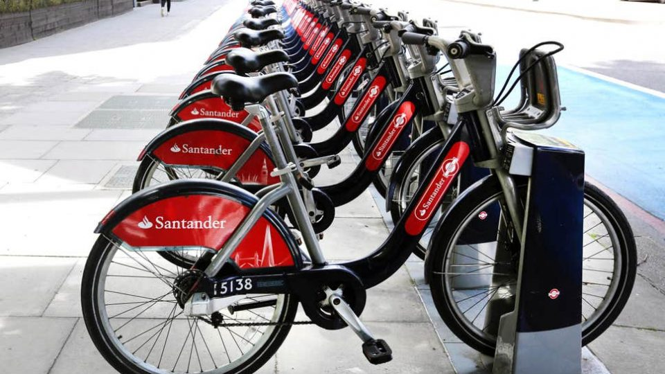 cycle hire Clapham